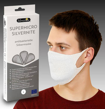 Mask Silvernite® Supermicro Herren